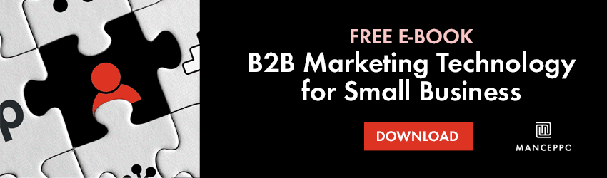 E-book B2B Marketing Technology